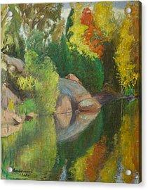 Pekka Halonen Autumnal Landscape Acrylic Print