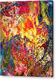 Pele Acrylic Print