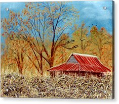 Pelham Barn Acrylic Print