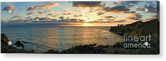 Acrylic Print featuring the photograph Pelican Cove Park Panorama by Eddie Yerkish