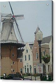 Pella Iowa Windmill Acrylic Print