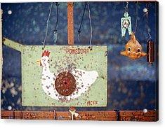 Pellet Gun Targets 3 Acrylic Print