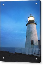 Pemaquid Lighthouse, Bristol, Me Acrylic Print by Gillham Studios