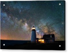 Pemaquid Mysteries Acrylic Print by Darren White