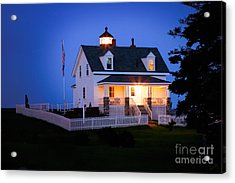 Pemaquid Point Lighthouse 3071 Acrylic Print