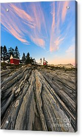 Pemaquid Point Lighthouse Acrylic Print by Henk Meijer Photography