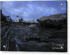 Pemaquid Reflection Acrylic Print by Timothy Johnson