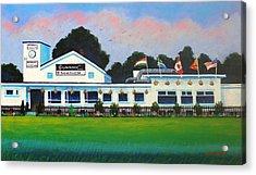 Pembroke Cricket Club - Dublin Acrylic Print by John  Nolan
