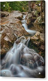 Pemigewasset Cascade 8378 Acrylic Print