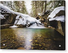 Acrylic Print featuring the photograph Pemigewasset River by Robert Clifford