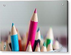 Pencils 4 Acrylic Print