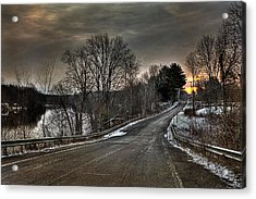 Pendergast Road Acrylic Print by Everet Regal