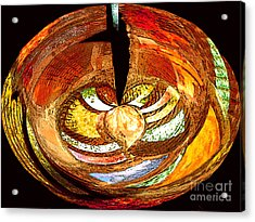 Penetration Acrylic Print by Patric Carter