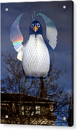 Penguin Angel Acrylic Print by Jez C Self