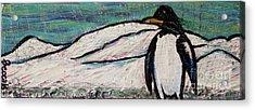 Penguino Acrylic Print