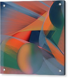 Penman Original-943 Acrylic Print