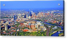 Penn Hup Chop Philadelphia 0541 Acrylic Print