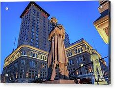 Penn Square Lancaster City Acrylic Print