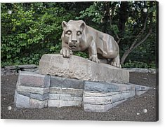 Penn Statue Statue  Acrylic Print by John McGraw