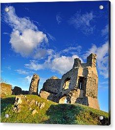 Pennard Castle Acrylic Print