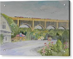Pennsylvania - Nicholson Bridge Acrylic Print