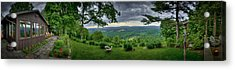 Acrylic Print featuring the photograph Pennsylvania Overlook by Williams-Cairns Photography LLC