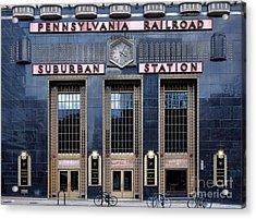 Pennsylvania Railroad Suburban Station Acrylic Print
