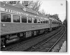 Pennsylvania Reading Seashore Lines Train Acrylic Print
