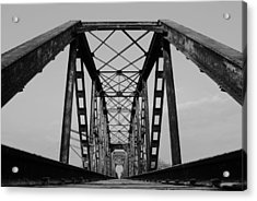 Pennsylvania Steel Co. Railroad Bridge Acrylic Print