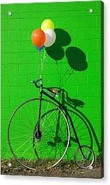 Penny Farthing Bike Acrylic Print by Garry Gay