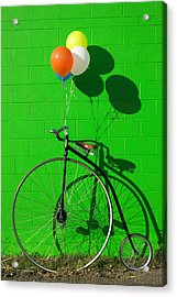 Penny Farthing Bike Acrylic Print
