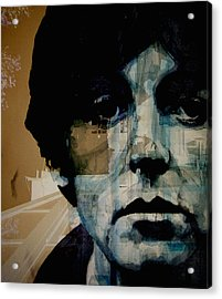 Penny Lane Acrylic Print by Paul Lovering
