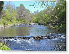Acrylic Print featuring the photograph Pennypack Creek - Philadelphia by Bill Cannon