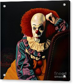 Pennywise Acrylic Print by Paul Meijering