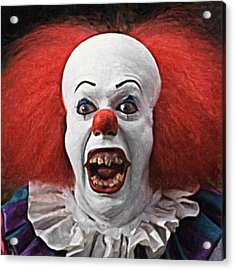 Pennywise The Clown Acrylic Print