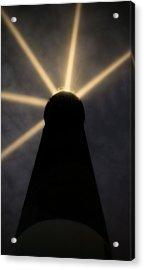 Pensacola Lighthouse Through The Fog Acrylic Print by JC Findley