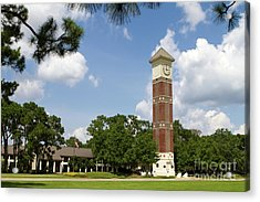 Acrylic Print featuring the photograph Pensacola State College by Steven Frame