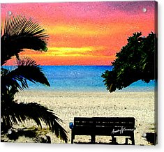 Pensive Place 2 Acrylic Print by Anthony Caruso