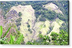 Penuelas, Puerto Rico Mountains Acrylic Print