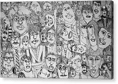 People People People Acrylic Print