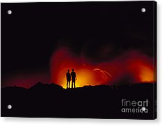 People View Lava Acrylic Print by Ron Dahlquist - Printscapes