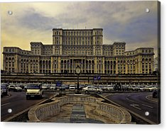 Acrylic Print featuring the photograph People's Palace by Rob Tullis