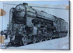 Acrylic Print featuring the mixed media Peppercorn A2 Pacific by Mike Jeffries