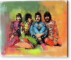 Peppers  The Beatles Acrylic Print