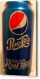 Pepsi Cola Acrylic Print