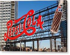 Pepsi-cola Sign I Acrylic Print