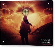 Perception Acrylic Print by Jennifer Gelinas