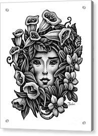 Perception Of Beauty Acrylic Print by David Fedan