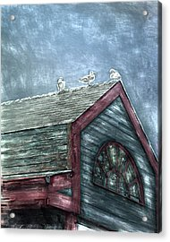 Perched Acrylic Print