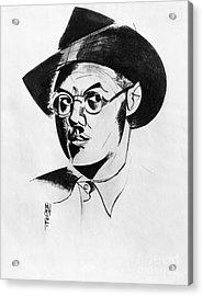 Percy Wyndham Lewis Acrylic Print by Granger